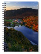 Balsams Sunset Spiral Notebook