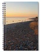 Baltic Sea Coast Spiral Notebook