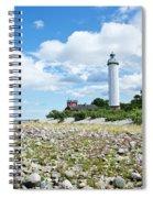 Baltic Sea Lighthouse Spiral Notebook