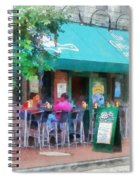 Baltimore - Happy Hour In Fells Point Spiral Notebook