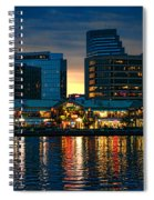 Baltimore Harborplace Light Street Pavilion Spiral Notebook