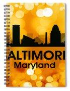 Baltimore Md 3 Spiral Notebook