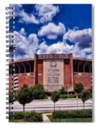 Baltimore Memorial Stadium 1960s Spiral Notebook