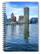 Baltimore On The Water Spiral Notebook