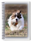 Bama - Pets - Dogs Spiral Notebook