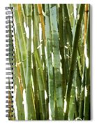 Bamboo Abstract Spiral Notebook