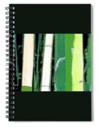 Bamboo Abstraction Spiral Notebook