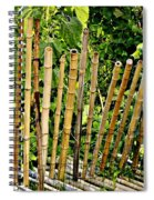 Bamboo Fencing Spiral Notebook