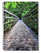 Bamboo Forest Bridge Spiral Notebook