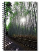 Bamboo Forest Path Of Kyoto Spiral Notebook