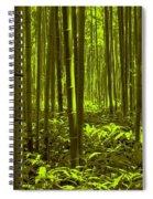 Bamboo Forest Twilight  Spiral Notebook