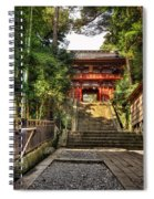 Bamboo Temple Spiral Notebook