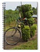 Banana Bike Spiral Notebook