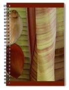 Banana Composition II Spiral Notebook