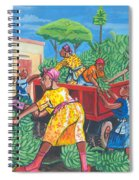 Banana Delivery In Cameroon 01 Spiral Notebook