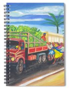 Banana Delivery In Cameroon 02 Spiral Notebook