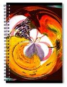 Banana Swirl Spiral Notebook