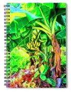 Bananas In Lahaina Maui Spiral Notebook