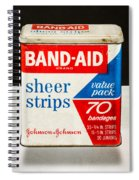 Band-aid Box Spiral Notebook