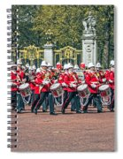 Band Of The Guard Spiral Notebook