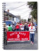 Band Practice In The Bywater Spiral Notebook