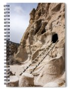 Bandelier Caveate - Bandelier National Monument New Mexico Spiral Notebook