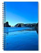 Bandon Blue Spiral Notebook