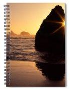 Bandon Golden Moment Spiral Notebook