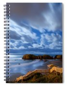 Bandon Nightlife Spiral Notebook