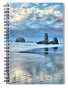 Bandon Sea Stack Reflections Spiral Notebook