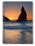 Bandon Sundown Spiral Notebook