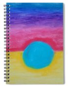 Bands Of Color Spiral Notebook