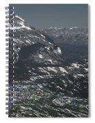 Banff Alberta Canada Spiral Notebook