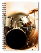 Bang On The Drum All Day Spiral Notebook