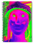 Banged Up Beatnick Spiral Notebook