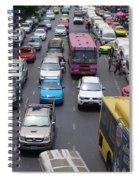 Bangkok Street View  Spiral Notebook