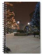Bangor Maine Christmas Spiral Notebook
