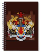 Bank Of Bermuda Coat Of Arms Spiral Notebook