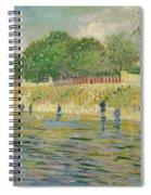 Bank Of The Seine Spiral Notebook