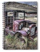 Bannack Ghost Town Truck - Montana Spiral Notebook