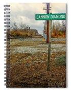 Bannon Diamond 01 Spiral Notebook
