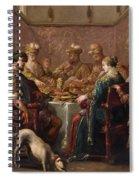 Banquet Scene Spiral Notebook