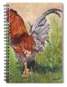 Bantam Cockerel Spiral Notebook