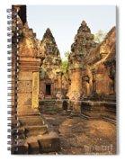 Banteay Srei, Cambodia Spiral Notebook