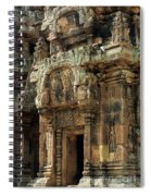 Banteay Srei Temple 01 Spiral Notebook