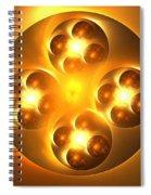 Baoding Balls Spiral Notebook