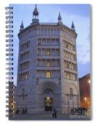 Baptistery Of Parma Spiral Notebook