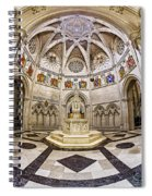Baptistry At Saint John The Divine Cathedral Spiral Notebook