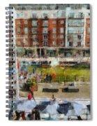 Bar 38 Gunwharf Quays Spiral Notebook