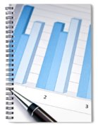 Bar Chart Spiral Notebook